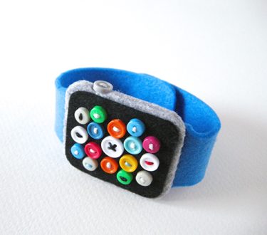Apple Watch aus Filz