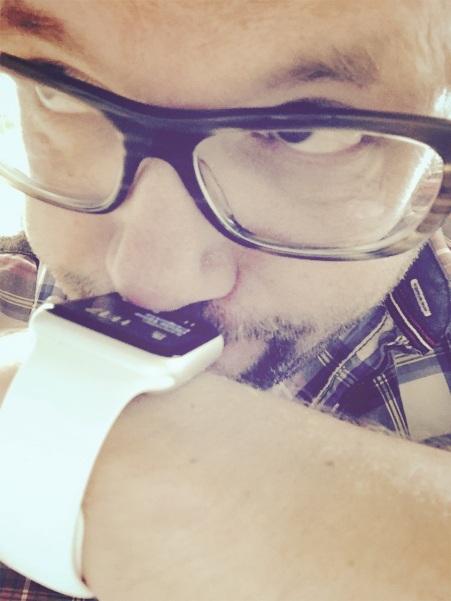 Die Smartwatch Nase