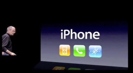 Steve iPhone Keynote