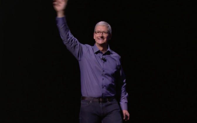 Tim Cook Opening Event 2015