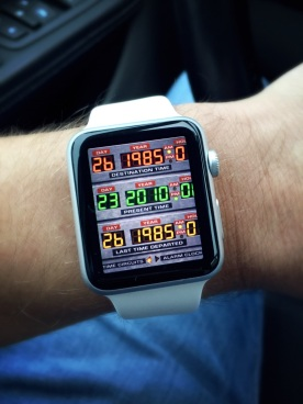 Apple Watch BTTF