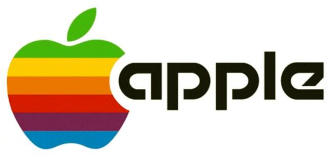 Apple Logo Classic Colors