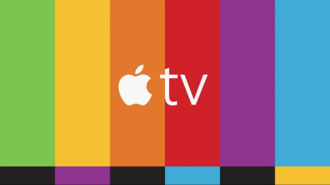 Apple TV Ad Colors