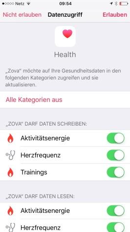 Zova - Health App